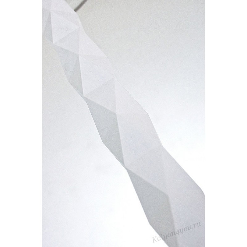 Кальян Феникс 520  White-Black  80 см